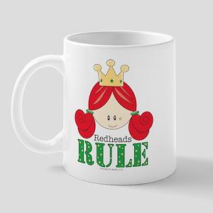 Redheads Rule Redhead Mug