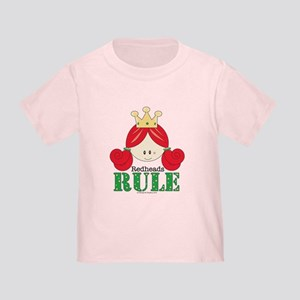 Redheads Rule Redhead Toddler T-Shirt