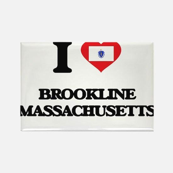 I love Brookline Massachusetts Magnets