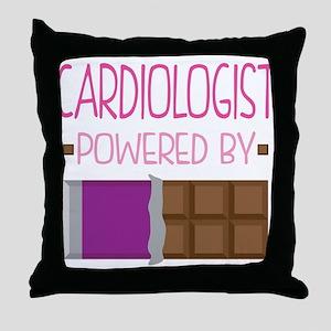 Cardiologist Throw Pillow