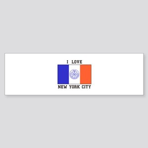 I LOve New York Bumper Sticker