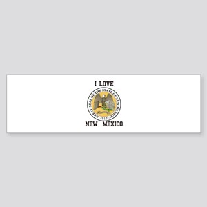 I Love New Mexico Bumper Sticker