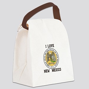 I Love New Mexico Canvas Lunch Bag