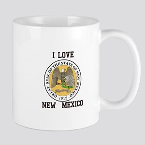 I Love New Mexico Mugs