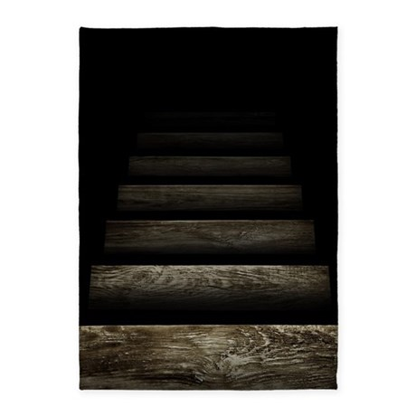 Trapdoor Staircase 5 X7 Area Rug By Threadster