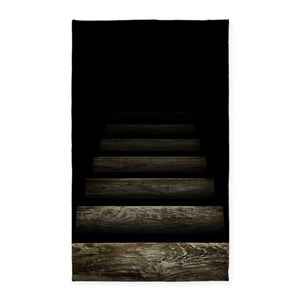 rug staircase area optical rugs trapdoor illusions illusion stair cafepress furnishings height front decor favorite