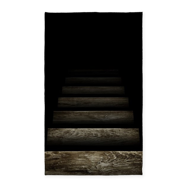 Trapdoor Staircase Area Rug by Threadster