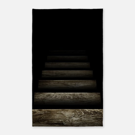 rug staircase trapdoor area optical rugs illusions furnishings cafepress height decor favorite front