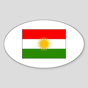 Kurdistan Iraq Flag Sticker