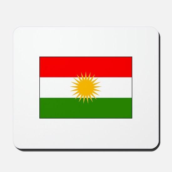 Kurdistan Iraq Flag Mousepad
