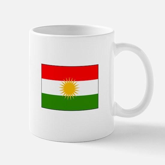 Kurdistan Iraq Flag Mugs