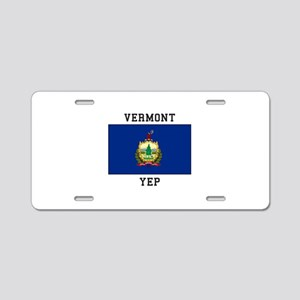 Vermont yeP Aluminum License Plate