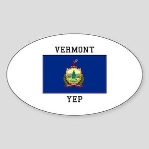 Vermont yeP Sticker