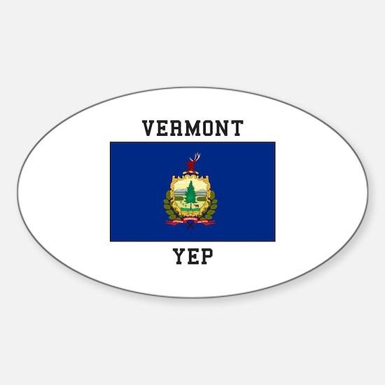Vermont yeP Decal