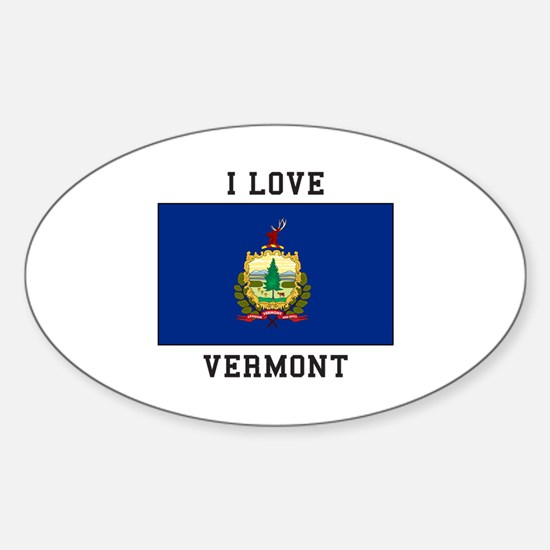 I lOVE Vermont Decal