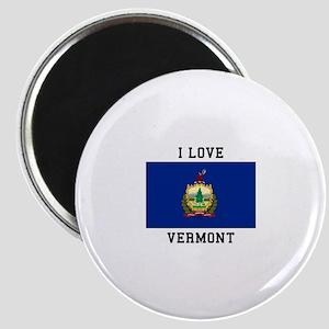 I lOVE Vermont Magnets