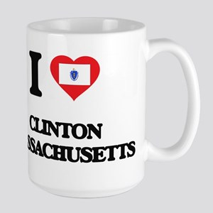I love Clinton Massachusetts Mugs