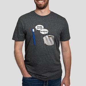 I Hate My Job Mens Tri-blend T-Shirt