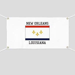 New Orleans Flag Banner