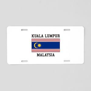 Kuala Lumpur Malaysia Aluminum License Plate