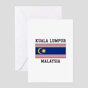 Kuala Lumpur Malaysia Greeting Cards
