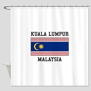 Kuala Lumpur Malaysia Shower Curtain