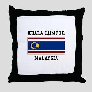 Kuala Lumpur Malaysia Throw Pillow