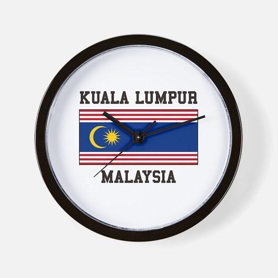 Kuala Lumpur Malaysia Wall Clock