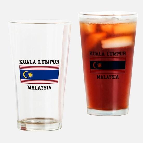 Kuala Lumpur Malaysia Drinking Glass