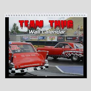 Team Thug Wall Calendar