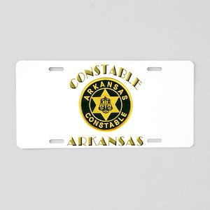 Arkansas Constable Aluminum License Plate