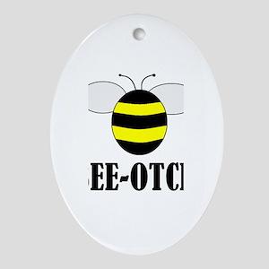 BEE-OTCH Oval Ornament