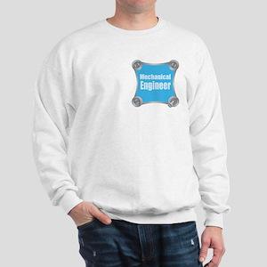 Blue Screw Loose Sweatshirt