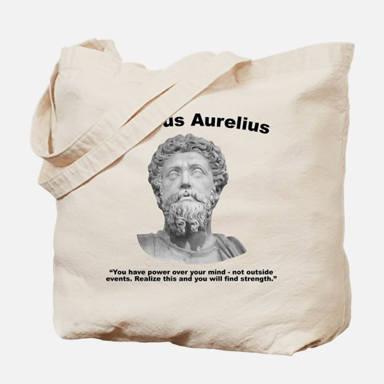 Aurelius: Strength Tote Bag