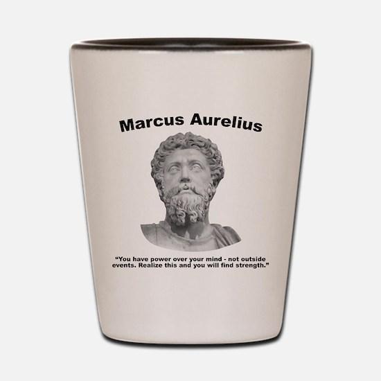 Aurelius: Strength Shot Glass