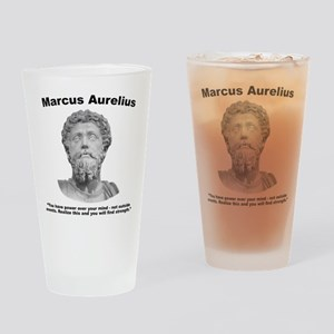 Aurelius: Strength Drinking Glass