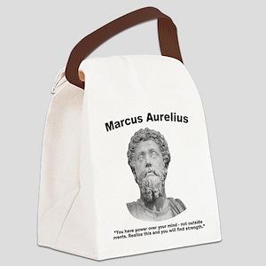 Aurelius: Strength Canvas Lunch Bag