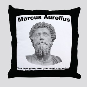 Aurelius: Strength Throw Pillow
