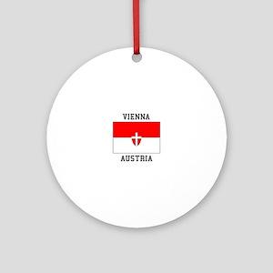 Vienna, Austria Ornament (Round)