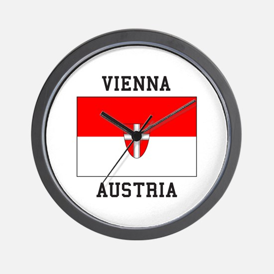 Vienna, Austria Wall Clock