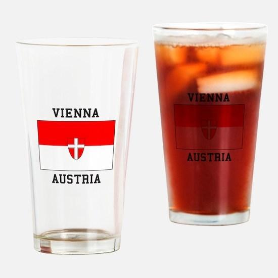 Vienna, Austria Drinking Glass