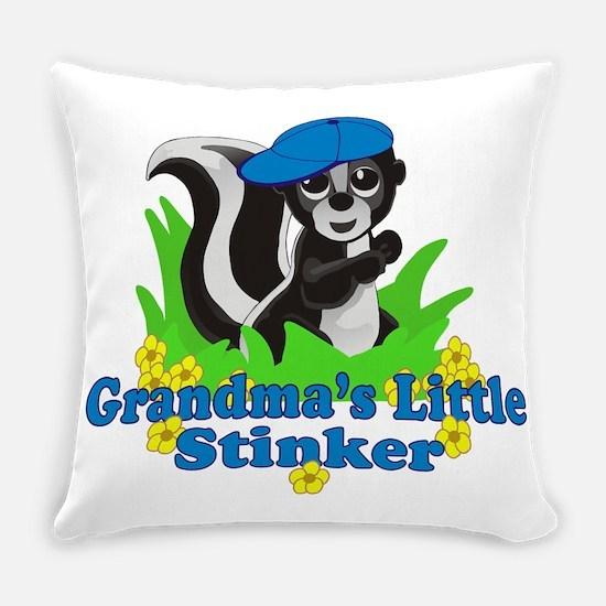 Grandmas Little Stinker Boy Everyday Pillow