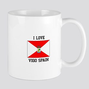 I Love Vigo spain Mugs
