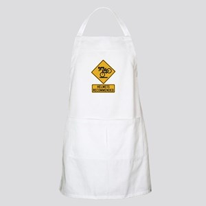 Helmets Recommended w/text - USA BBQ Apron