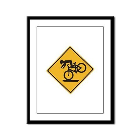 Helmets Recommended - USA Framed Panel Print