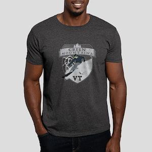 Ski Green Mountains Dark T-Shirt