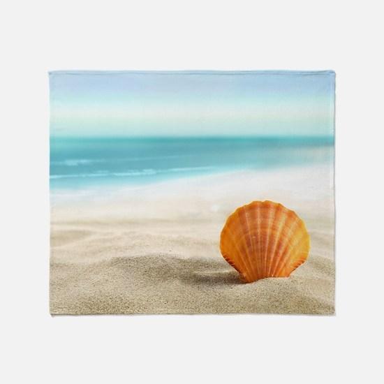 Summer Sand Throw Blanket