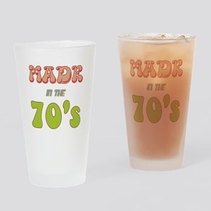 Made in the 70's Drinking Glass
