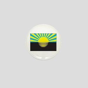 Donetsk, Ukraine Flag Mini Button