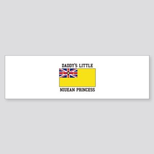 Daddy's Little Niuean Princess Bumper Sticker